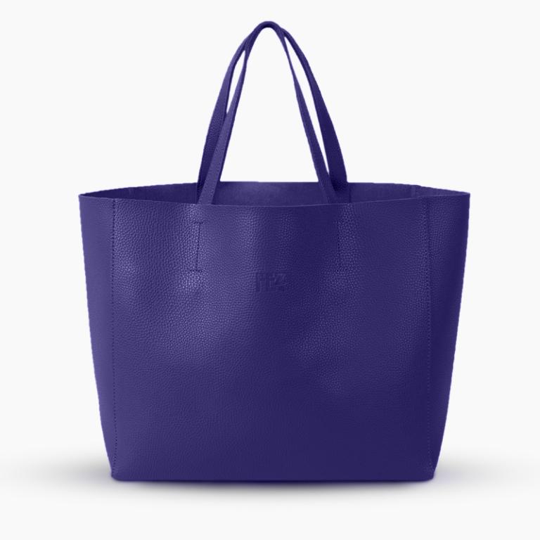 Shopper Blu Lapis - La Zona Trieste